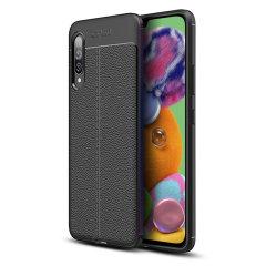 Voor een vleugje premium, minimalistische klasse, hoeft u niet verder te zoeken dan de Attache-case van Olixar. Lenen flexibele, duurzame bescherming aan uw Samsung Galaxy A90 5G met een gladde, getextureerde leerachtige afwerking, deze case is het laatste woord is stijl en klasse.