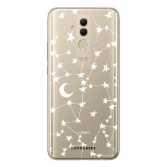 LoveCases Huawei Mate 20 Lite Clear Starry Phone Case