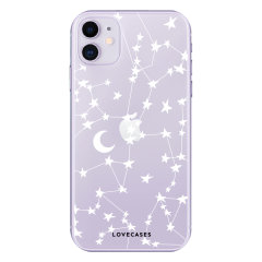 Give your iPhone 11 a cute new look with this stars & moons design phone case from LoveCases. Cute but protective, the ultra-thin case provides slim fitting and durable protection against life's little accidents.
