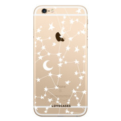 Give your iPhone 6(S) a cute new look with this stars & moons design phone case from LoveCases. Cute but protective, the ultra-thin case provides slim fitting and durable protection against life's little accidents.