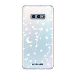 LoveCases Samsung Galaxy S10e Clear Starry Hoesje
