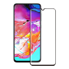 Découvrez le summum de la protection d'écran en verre trempé pour le Samsung Galaxy A70s. Le verre trempé Eiger 3D Glass est fabriqué à partir d'un verre de qualité supérieur et est doté d'une bordure arrondie parfaitement ajustée à votre smartphone. Par ailleurs, ce verre trempé est doté d'un revêtement anti-bris de glace.