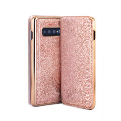 Form-fitting and bulk-free, the Glitsee case for your Samsung S10 Plus from Ted Baker sports an eye-catching yet sophisticated glitter appearance and feel while also offering superlative protection for your device from drops, scrapes and other damage.