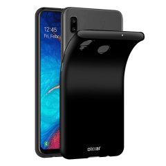 Deze doorzichtige FlexiShield-hoes van Olixar is op maat gemaakt voor de Samsung Galaxy A30 en biedt een nauwsluitende en duurzame bescherming tegen schade.