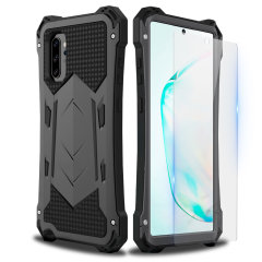 Full cover rugged protection for your Samsung Galaxy Note 10 Plus with the Olixar Titan Armour 360 case. Featuring a triple layer shock resistant design and a built in screen protector, to prevent any possible damage.