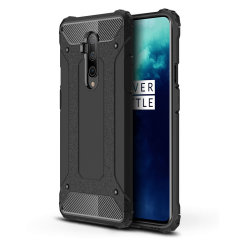 Protect your OnePlus 7T Pro from bumps and scrapes with this black Delta Armour case from Olixar. Comprised of an inner TPU section and an outer impact-resistant exoskeleton to provide all-round tough protection.
