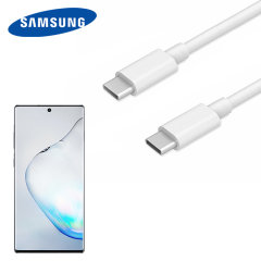 Cable Oficial USB-C Samsung Galaxy Note 10 Plus - Blanco