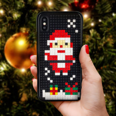 Olixar Mini Block Santa case is the present that keeps on giving. This case is an ideal way to get into the Christmas spirit whilst still protecting your device. Ideal as a stocking filler and secret Santa gifts.