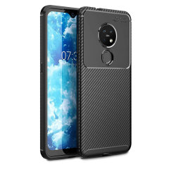 Olixar Carbon Fibre case is a perfect choice for those who need both the looks and protection! A flexible TPU material is paired with an eye-catching carbon print to make sure your Nokia 7.2 is well-protected and looks good in any setting.