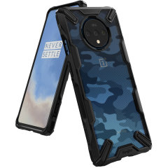 Keep your OnePlus 7T protected from bumps and drops with the Rearth Ringke Fusion X tough case in Camo. Featuring a 2-part, Polycarbonate design, this case lives up to military drop test standards so you can rest assured that your device is safe