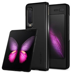 Durable and lightweight, the Spigen Thin Fit series for the Samsung Galaxy Fold offers premium protection in a slim, stylish package. Carefully designed the Thin Fit case in smooth black is form-fitted for a perfect fit.