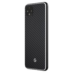 This ultra-thin full cover back protector in Carbon Fiber for the Pixel 4 from RhinoShield offers toughness, a premium textured finish and an attractive look all in one package.