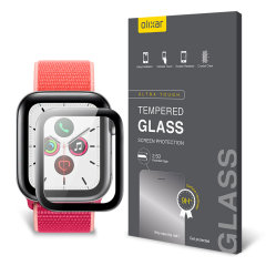 This ultra-thin tempered glass screen protector for the Apple Watch series SE/ 6 / 5 / 4 - 40mm from Olixar offers toughness, high visibility and sensitivity all in one package.