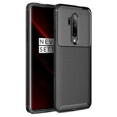 Flexible rugged casing with a premium matte finish non-slip carbon fibre and brushed metal design, the Olixar case in black keeps your OnePlus 7T Pro  5G McLaren Edition protected.