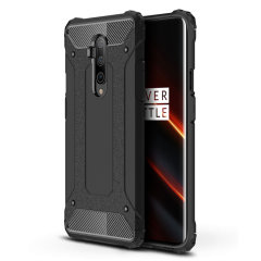 Protect your OnePlus 7T Pro 5G McLaren Edition from bumps and scrapes with this black Delta Armour case from Olixar. Comprised of an inner TPU section and an outer impact-resistant exoskeleton to provide all-round tough protection.