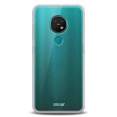 Op maat gemaakt voor de Nokia 6.2, deze heldere, ultra dunne hoes van Olixar biedt een slanke pasvorm en duurzame bescherming tegen schade.