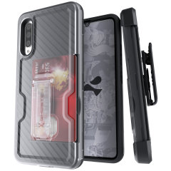 The Samsung Galaxy A90 5G Iron Armor 3 case in Black from Ghostek provides your Samsung Galaxy A90 5G with fantastic all-around protection. Includes a card slot for added convenience.