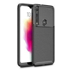 Olixar Carbon Fibre case is a perfect choice for those who need both the looks and protection! A flexible TPU material is paired with an eye-catching carbon print to make sure your Motorola Moto G8 Plus is well-protected and looks good in any setting.