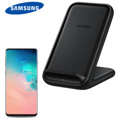 Official Samsung Galaxy S10 Fast Wireless Charger Stand 15W - Black