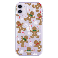 Give your iPhone 11 a festive new look with this Christmas gingerbread phone case from LoveCases. Cute but protective, the ultra-thin case provides slim fitting and durable protection against life's little accidents.