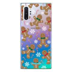 Give your Samsung Note 10 plus 5G a festive new look with this Christmas gingerbread phone case from LoveCases. Cute but protective, the ultra-thin case provides slim fitting and durable protection against life's little accidents.