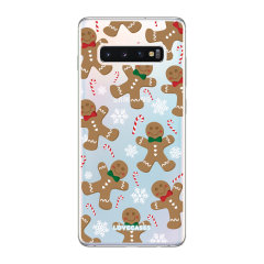 Give your Samsung S10 Plus a festive new look with this Christmas gingerbread phone case from LoveCases. Cute but protective, the ultra-thin case provides slim fitting and durable protection against life's little accidents.