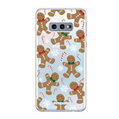 Give your Samsung S10e a festive new look with this Christmas gingerbread phone case from LoveCases. Cute but protective, the ultra-thin case provides slim fitting and durable protection against life's little accidents.