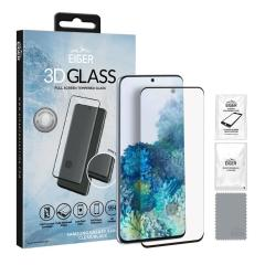 Introducing the ultimate in Edge to Edge screen protection for the Samsung Galaxy S20 Plus, the 3D Glass by Eiger is made from premium real tempered glass with rounded edging and anti-shatter glass for a perfect fit & ultimate protection for your S20 Plus