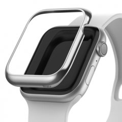 A stainless steel cover for your Apple Watch 4 44mm in Silver from Ringke is a very stylish way to diversify and secure our accessory. Bezel Styling gives the smartwatch an exclusive look.