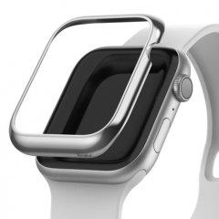 Protégez votre Apple Watch 4 44mm avec le cadrant de protection Ringke en acier inoxydable argent. Une façon sobre et élégante de protéger votre précieuse montre tout en lui apportant un style attrayant au quotidien.