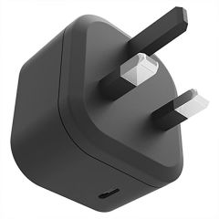 Featuring fast and convenient charging for your USB-C devices such as your smartphone or any other device that charges via USB-C cable. Power up quickly and powerfully using the PowerFlo+ USB-C PD Wall Charger 18W by Cygnett.