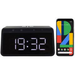Le réveil intelligent KSIX Alarm Clock 2 en coloris noir est un accessoire idéal à placer sur votre table de chevet. Sa conception compacte et élégante vous permet d'afficher l'heure sans utiliser trop d'espace. Pratique, ce réveil intelligent comprend un support de chargement sans fil rapide Qi pour votre Google Pixel 4, ainsi qu'un mode veilleuse avec 8 coloris pour un sommeil parfait.