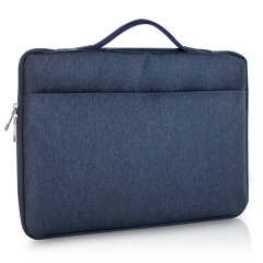 "Olixar Macbook Pro 16"" Canvas Bag With Handle - Navy Blue"