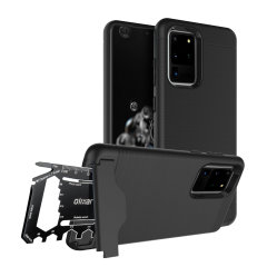 Prepare your Samsung Galaxy S20 Ultra for the great outdoors with the rugged X-Ranger case. With a handy kickstand and a secure compartment for the included multi-tool - or the card of your choice - you'll be ready for anything.