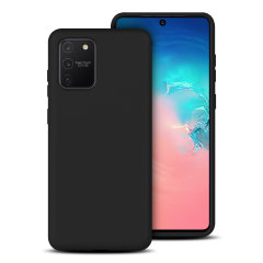Custom moulded for the Samsung Galaxy S10 Lite, this black soft silicone case from Olixar provides excellent protection against damage as well as a slimline fit for added convenience.