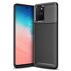 Olixar Carbon Fibre case is a perfect choice for those who need both the looks and protection! A flexible TPU material is paired with an eye-catching carbon print to make sure your Samsung Galaxy S10 Lite is well-protected and looks good in any setting.