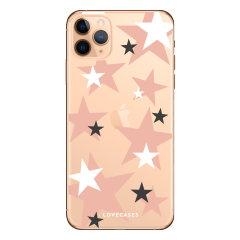 Coque iPhone 11 Pro Max LoveCases Étoiles Roses