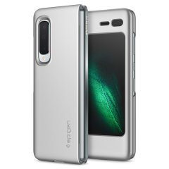Durable and lightweight, the Spigen Thin Fit series for the Samsung Galaxy Fold offers premium protection in a slim, stylish package. Carefully designed the Thin Fit case in silver is form-fitted for a perfect fit.