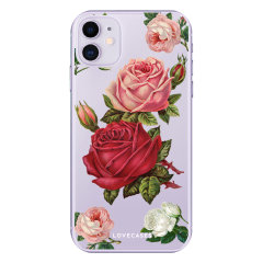 Give your iPhone 11  a cute new look with this Roses design phone case from LoveCases. Cute but protective, the ultra-thin case provides slim fitting and durable protection against life's little accidents.