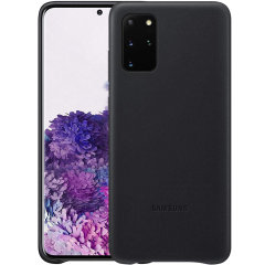 This Official Samsung Leather Cover in black is the perfect way to keep your Samsung Galaxy S20 Plus smartphone protected in style, made out of genuine leather.
