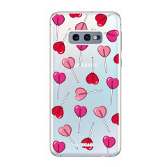 Give your Samsung S10e a cute new look with this Valentines Lollypop design phone case from LoveCases. Cute but protective, the ultra-thin case provides slim fitting and durable protection against life's little accidents