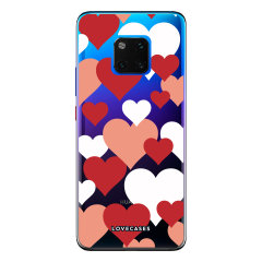 Give your Huawei Mate 20 Pro a cute new look with this Love Heart design phone case from LoveCases. Cute but protective, the ultra-thin case provides slim fitting and durable protection against life's little accidents
