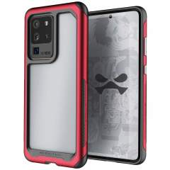 Equip your new Samsung Galaxy S20 Ultra with the most extreme and durable protection around! The Red Ghostek Atomic Slim 3 provides rugged drop and scratch protection whilst keeping the phone slim and stylish.