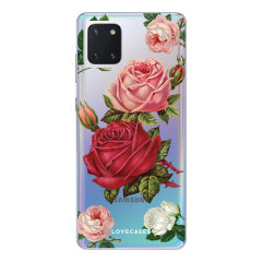 LoveCases Samsung Galaxy Note 10 Lite Roses Phone Case - Clear