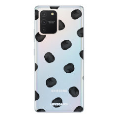 Give your Samsung Galaxy S10 Lite a cute new look with this Polka design phone case from LoveCases. Cute but protective, the ultra-thin case provides slim fitting and durable protection against life's little accidents