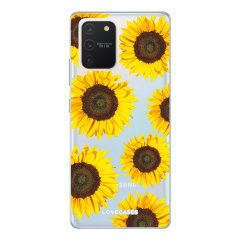 Give your Samsung Galaxy S10 Lite a cute new look with this Sunflower design phone case from LoveCases. Cute but protective, the ultra-thin case provides slim fitting and durable protection against life's little accidents