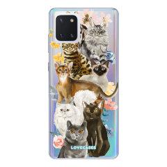 LoveCases Samsung Galaxy Note 10 Lite Gel Case - Cats