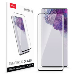 Protect all of your Samsung Galaxy S20 Ultra beautiful display  of edge to edge tempered glass screen protectors from Zizo. With superb clarity and a durable construction this is the perfect way to keep your screen looking good.