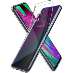 Spigen Liquid Crystal Samsung Galaxy A40 Case - Clear
