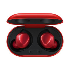 Samsung brings you the next generation of headphones with the all new Samsung Galaxy buds+ in Red. Created with cutting edge technology these wireless Galaxy Buds are superior in sound quality, microphone quality and being convenient all round.